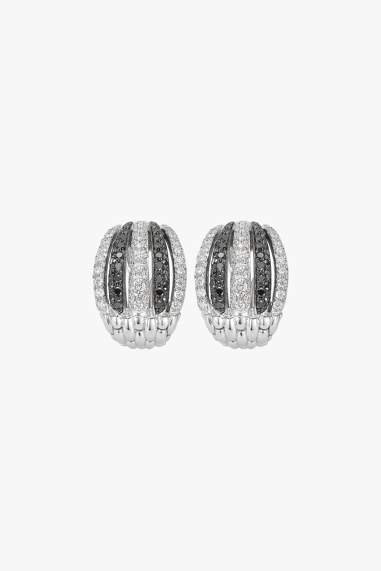 Diamond Pave Earrings Fope