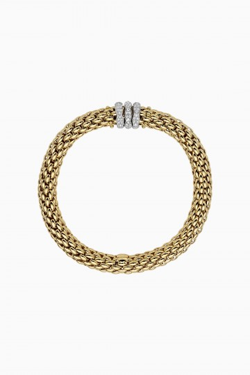 Flex'it bracelet with diamond pavé
