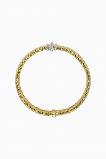 Flex'it bracelet with diamonds pave'