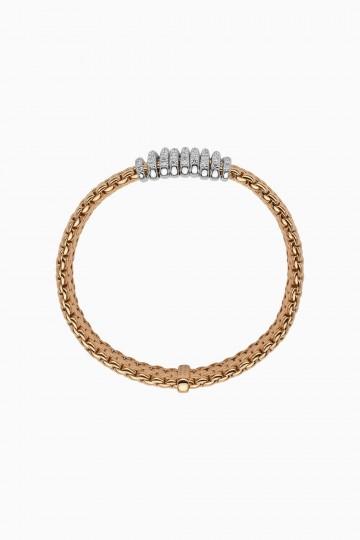 Flex'it bracelet with diamond pave'