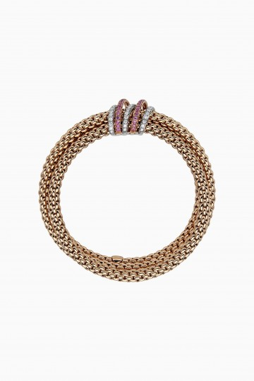 Flex'it bracelet with rose sapphire