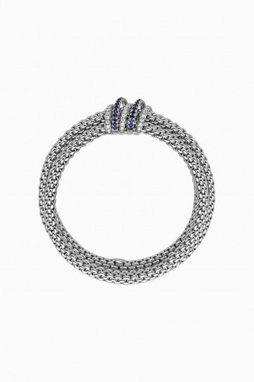 Flex'it bracelet with blue sapphire