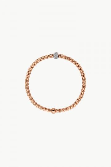 Flex'it bracelet with diamond pavé