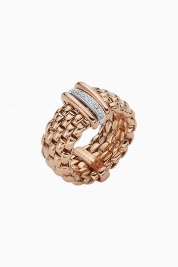 Flex'it ring with diamonds