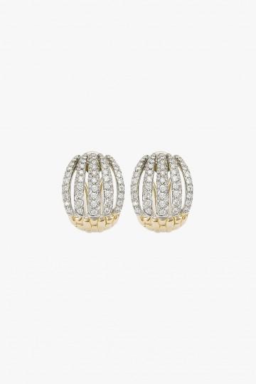 Diamond pave' earrings