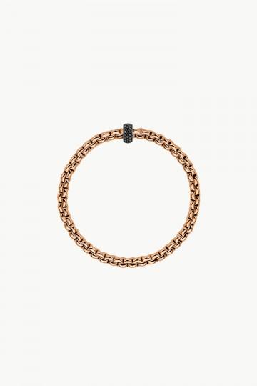 Flex'it bracelet with black diamonds